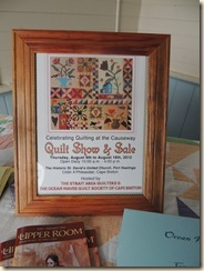 39.Quilt show Pt Hawkesbury NS