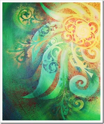 soleil reina cottier painting