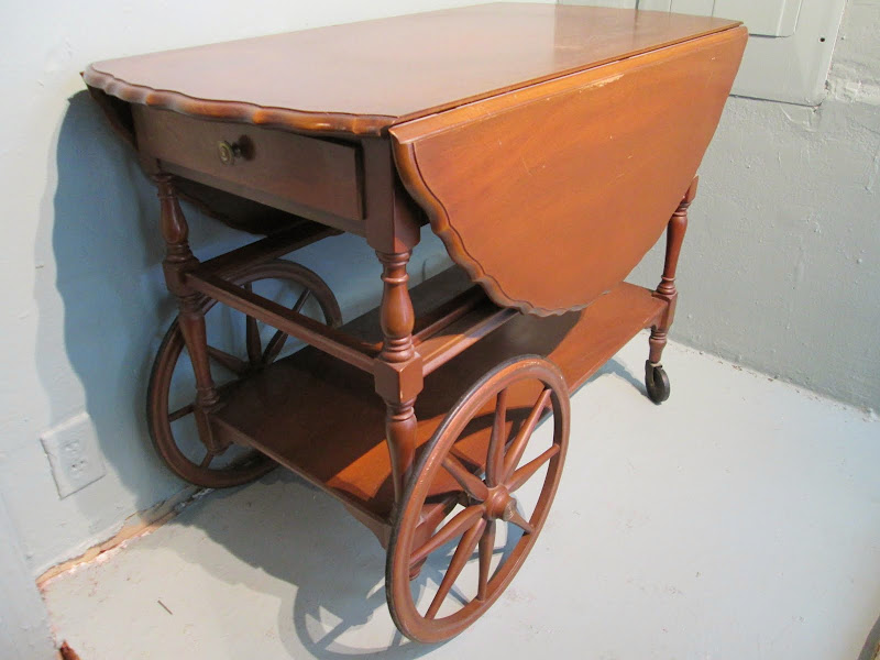Rolling Table Cart