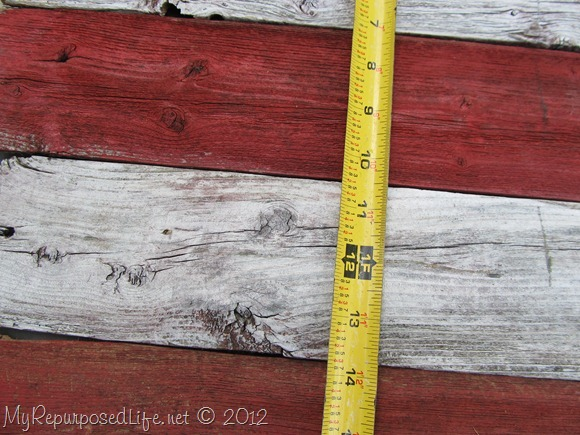 Americana Flag (Repurposed Fence) (17)
