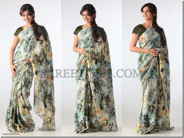 Samantha_Printed_Gorgeous_Saree