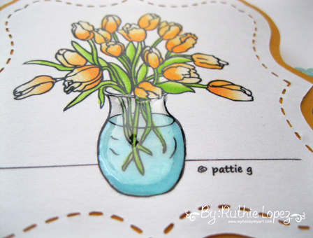 Patties Creations - Tulips vase - Ruthie Lopez - Charmeleon 3