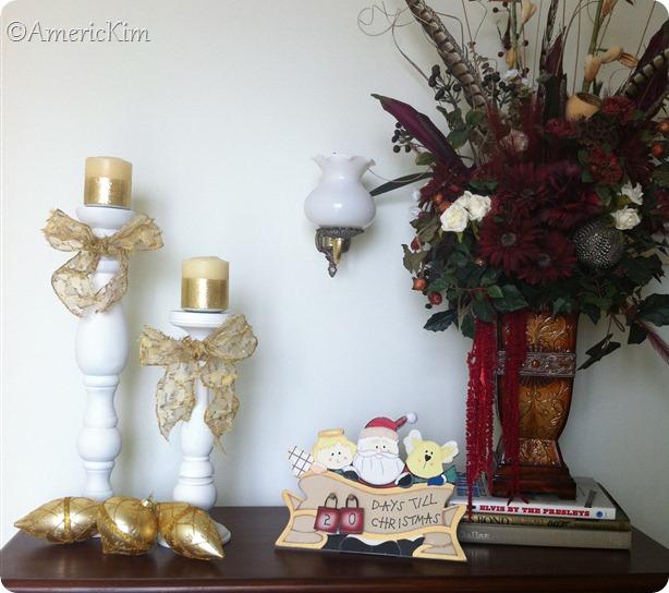 Finished cabinet decoration