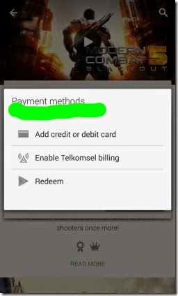 cara beli aplikasi android dengan pulsa telkomsel