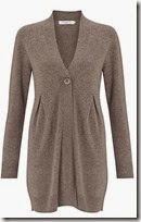 Shaped Cashmere Cardigan at John Lewis