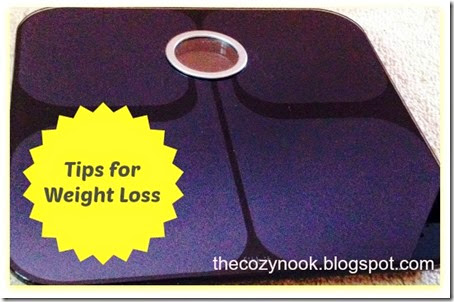 Tips for Weight Loss - The Cozy Nook