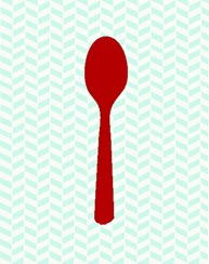 spoon_utensil_red