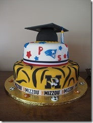 Cake made by the graduate's Dad!