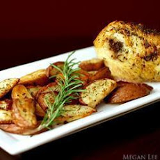 Crispy Rosemary Chicken And Chips