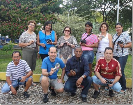 Áurea, Zilma, Lúcia, Andressa, Ana Maria, Cláudia, Araújo, Alessandro, Josevaldo e Liracir