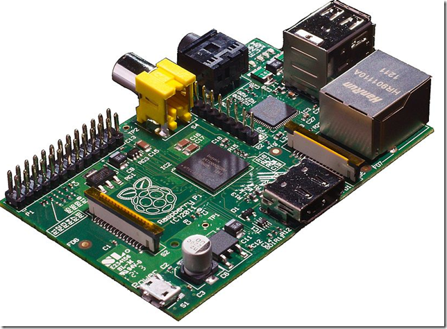Raspberry Pi main board