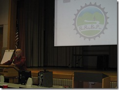 Zeke addresses Blue Ridge Bike Plan participants