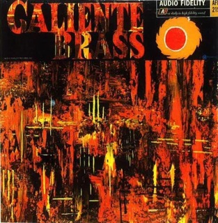The Ralph Robles Octet  Caliente Brass  LP Front