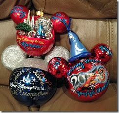 runDisney Marathon Weekend Ornaments