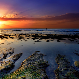 Sunset at Balangan Beach by Alfian Hangga Diputra - Landscapes Beaches ( #nature, #bali, #afternoon, #beach, #balangan, #sunset )