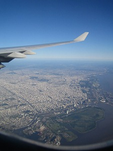 Aerial View of the City of Buenos Aires, Argentina by simounef, on Flickr [used under Creative Commons license]