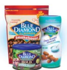 Blue Diamond Printable Coupon.