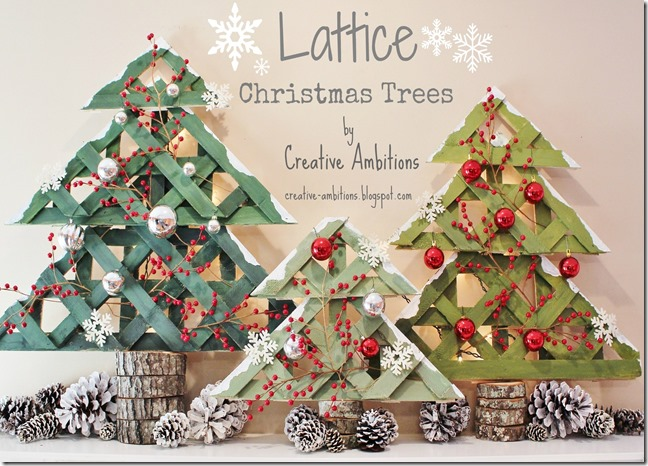 Lattice Christmas Trees