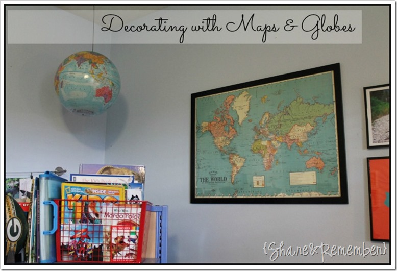 With Maps Globes