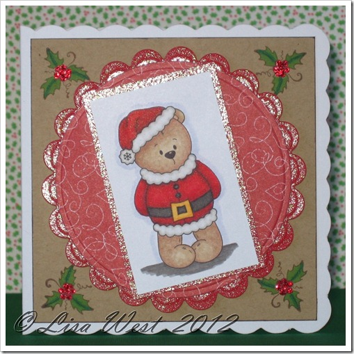Little Bear Winter Fun Card (8)
