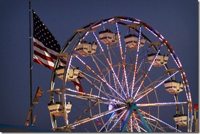 Kentucky State Fair ferris wheel
