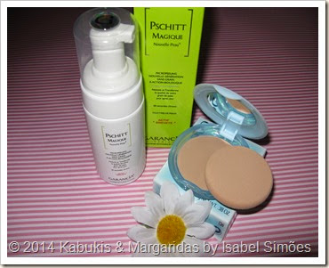 PSCHITT Magique da Garancia e Base Pureness da Shiseido