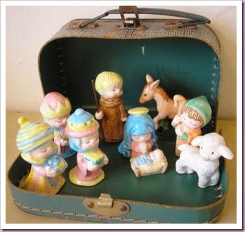 Crib in a suitcase