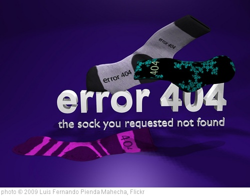'error 404' photo (c) 2009, Luis Fernando Pienda Mahecha - license: http://creativecommons.org/licenses/by/2.0/