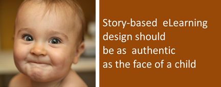 Assessing authenticity quotient in Story-based eLearning design