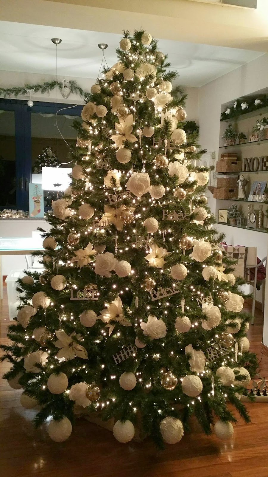 Top Alberi Di Natale Addobbati Di Bianco XZ04 » Regardsdefemmes VK09