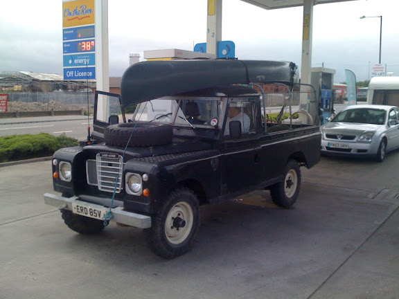The Land Rover l