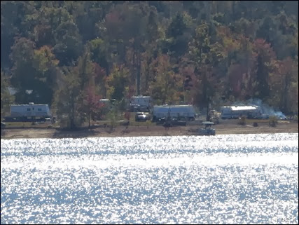 campground at Lake Chatuge Damn
