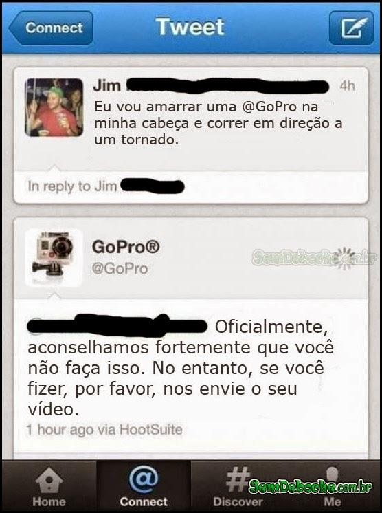 PRA QUE SERVE UMA GOPRO!