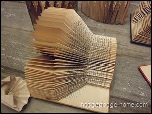 book fold 3