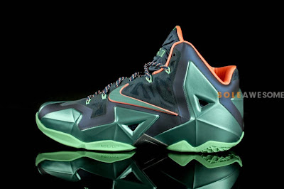 nike lebron 11 gr akron vs miami 6 02 Akron vs. Miami Nike LeBron XI   New Photos