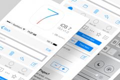 iOS 7 PSD