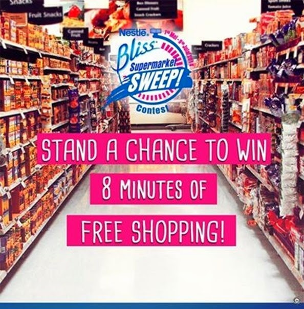 Contest Nestle Supermarket #BlissSweep