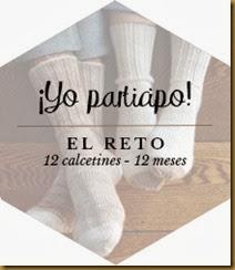 LOGO RETO 12 CALCETINES - 12 MESES