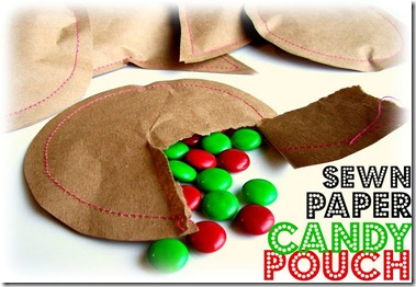 paper candy pouch