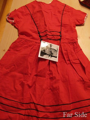 My red dress from 1959