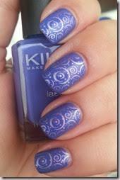 Gradient Stamping Kiko 337 Periwinkle Violet  Kiko Mirror 621 Violet 622 Wisteria Cheeky CH16 (1)