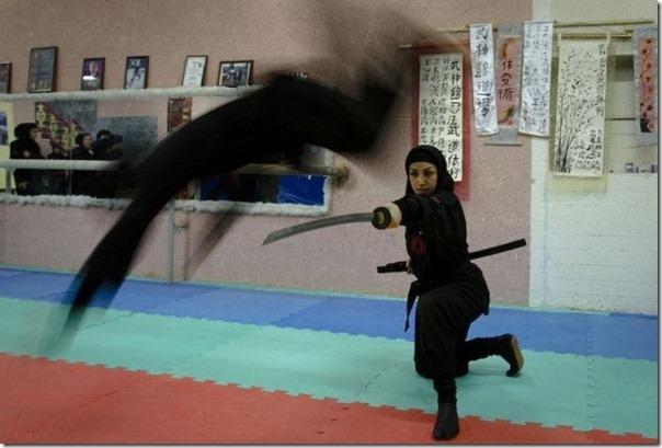 Mulheres iraquianas ninjas (1)