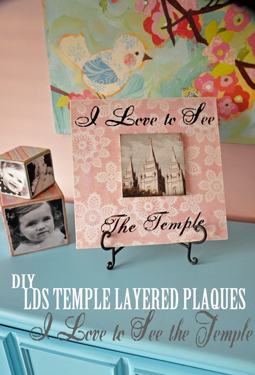 LDS Craft Projects - LDS Temple Craft Kit