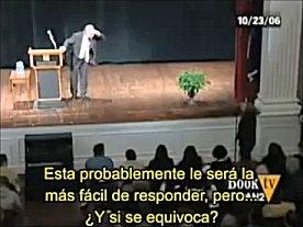 Richard Dawkins respondiendo a: ¿Y si usted se equivoca?