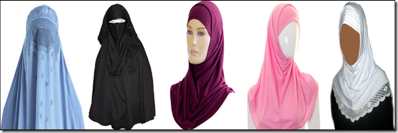 types of veil