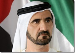 Mohammed bin Rashid Al Maktoum Estimated Net Worth In August 2011