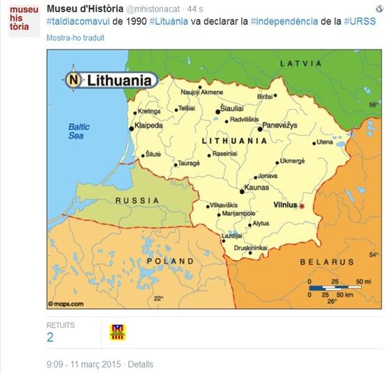 Istòria Lituania
