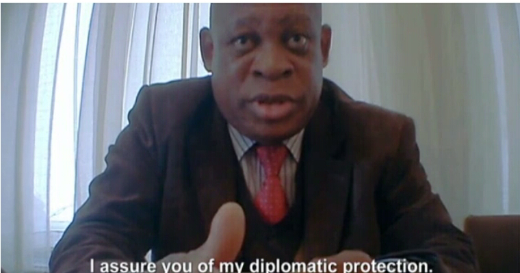 Abdul U0026 39 S Blog Video Nigerian Embassy Worker Who Says He
