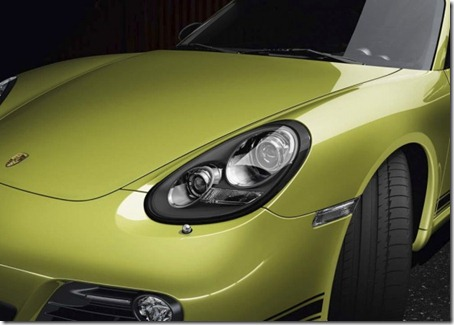 2012-Porsche-Cayman-R-Black-framed-Headlights