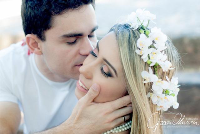fotografia e make casamento